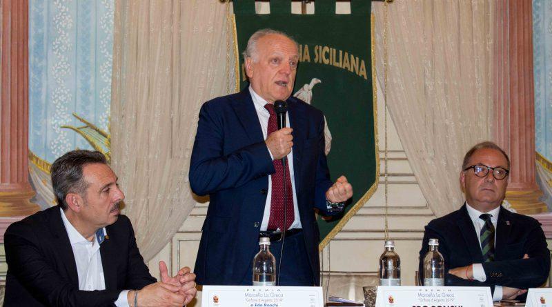 """Intervento completo di Edo Ronchi """"Grifone d'Argento 2019"""" Ente Fauna Siciliana"""