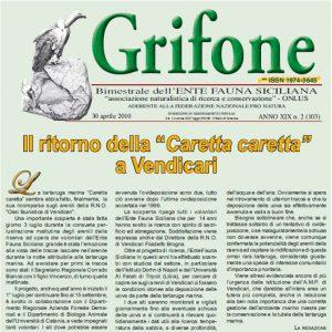 Grifone ANNO XIX n. 2 (103) - 30 aprile 2010