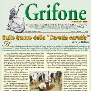 Grifone ANNO XIX n. 3 (104) - Giugno/Agosto 2010