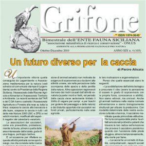 Grifone ANNO XIX n. 4 (105) - Ottobre/Dicembre 2010