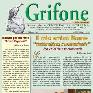 Grifone ANNO XXI n. 1 (111) - 29 febbraio 2012