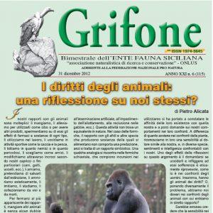Grifone ANNO XXI n. 6 (115) - 31 dicembre 2012