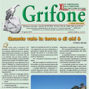 Grifone ANNO XXII n. 2 (117) - 30 aprile 2013