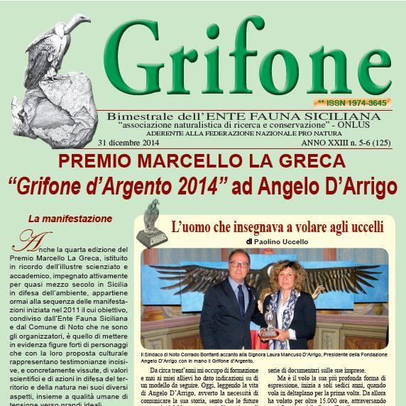 Grifone ANNO XXIII n. 5-6 (125) - 31 dicembre 2014