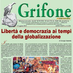 Grifone ANNO XXIV n. 4 (129) - 31 agosto 2015