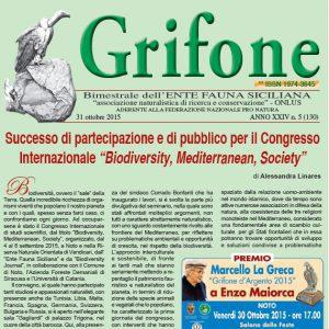 Grifone ANNO XXIV n. 5 (130) - 31 ottobre 2015