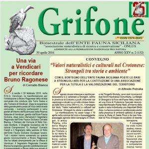 Grifone ANNO XXV n. 2 (132) - 30 aprile 2016
