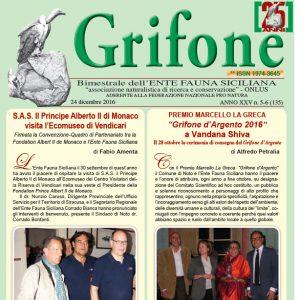 Grifone ANNO XXV n. 5-6 (135) - 24 dicembre 2016