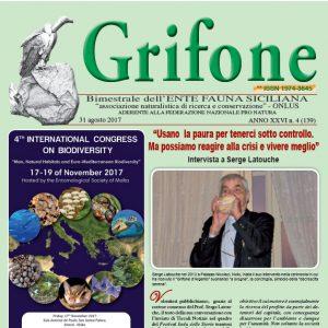 Grifone ANNO XXVI n. 4 (139) - 31 agosto 2017