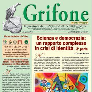 Grifone ANNO XXVIII n. 2 (147) - 30 aprile 2019