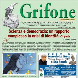 Grifone ANNO XXVIII n. 4 (149) - 31 agosto 2019