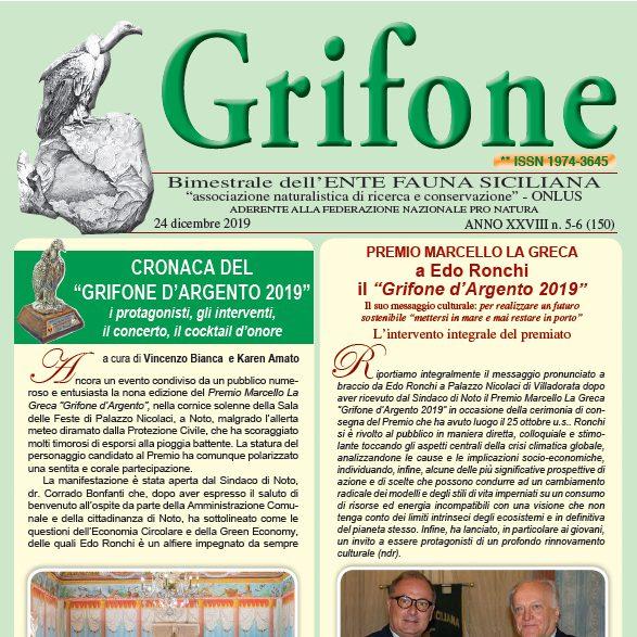 Grifone ANNO XXVIII n. 5-6 (150) - 24 dicembre 2019