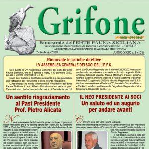 Grifone ANNO XXIX n. 1 (151) - 29 febbraio 2020