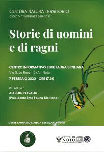 Storie di Uomini e di ragni EFS Alfredo Petralia
