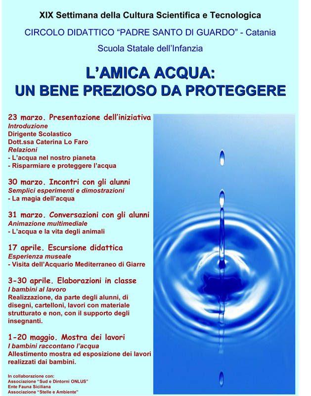 """- 23-03/29-03-2009: Vendicari - Noto, """"XIX^ Settimana della cultura scientifica"""" in collaborazione con l'Azienda FF.DD. R.S.."""