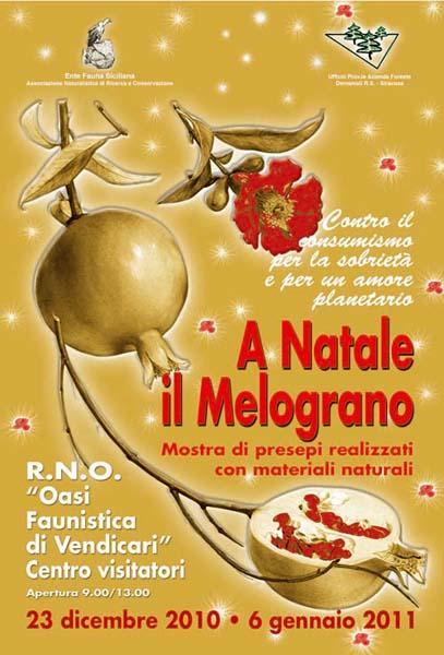 """""""A Natale il Melograno"""" Mostra di presepi realizzati con materiali naturali 2010"""