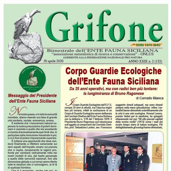 Grifone ANNO XXIX n. 2 (152) - 30 Aprile 2020