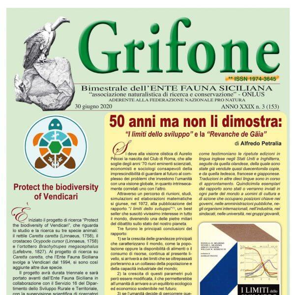 Grifone ANNO XXIX n. 3 (153) - 30 giugno 2020