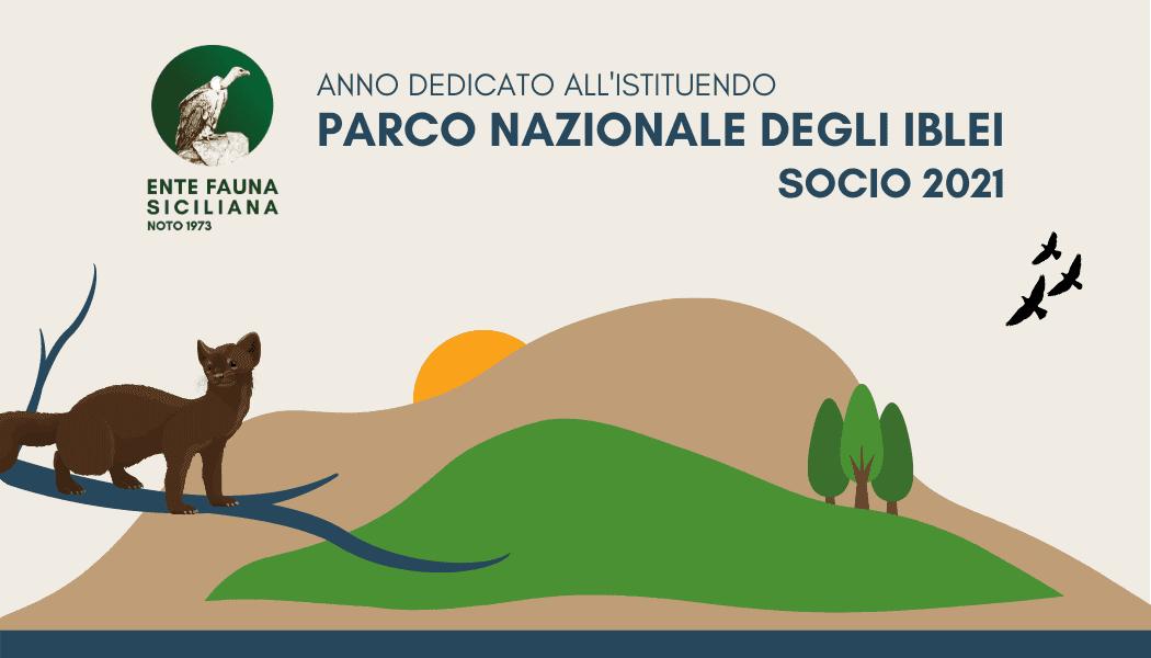 Tessera socio 2021 - ente fauna siciliana