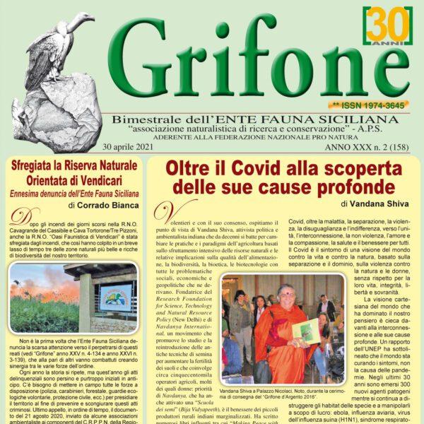 Grifone anno XXX n.2 (158) - 30 Aprile 2021